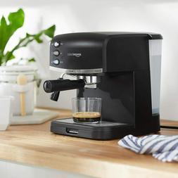 espresso machine milk frother black msrp 189