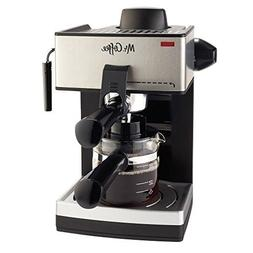 Espresso with Milk Frother 4-Cup Steam System ORIGINAL Top Q