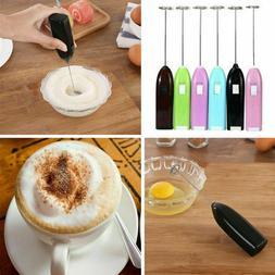 Frother Electric Milk Mixer Drink Foamer Coffee Egg Beater S