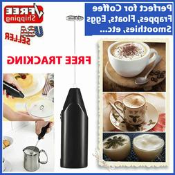 Frother Electric Milk Mixer Drink Foamer Coffee Egg Beater W