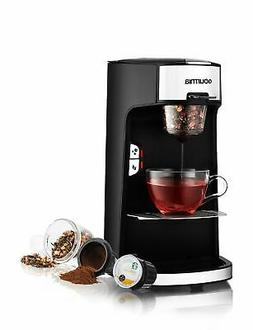 Gourmia GCM3600 Coffee Machine for K-cup, Ground Coffee & Lo