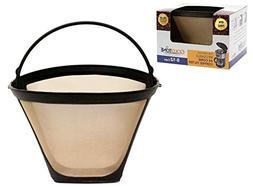 GoldTone Reusable #4 Cone Coffee Filter for Ninja Coffee Bar