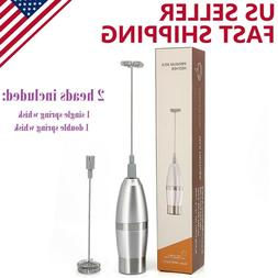 handheld electric milk frother automatic foam maker