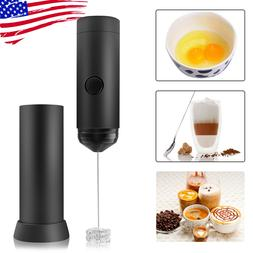 handheld electric whisk mixer coffee milk frother