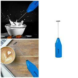 Remeel Handheld Milk Frother with Stainless Steel Whisk, Por