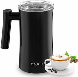 HAUEA Milk Frother, Electric Milk Steamer for Hot and Cold M