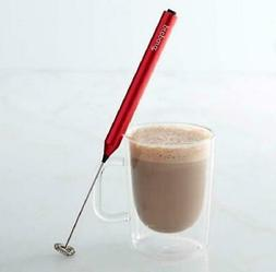 Prepara High Speed & Silent Running Milk Frother, Red