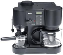 Krups 867-42 Il Caffe Bistro 10-Cup Coffee/4-Cup Espresso Ma