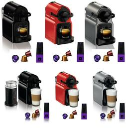 Nespresso Inissia Espresso Maker Brewer Kit w/ Optional Aero