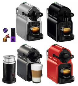 Nespresso Inissia Espresso Maker Brewer w/ Optional 16 Capsu