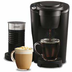Single Serve Coffee Maker K-Cup Black Perfect For Latte With