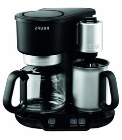 KRUPS KM310850 Latteccino 2-in-1 Coffee Maker Machine with P