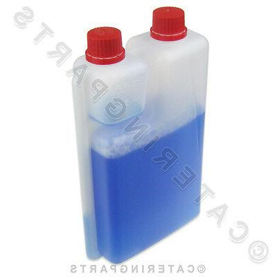 1 LITRE BOTTLE MILK FROTHER CLEANER MILK SERVERS STEAM WANDS