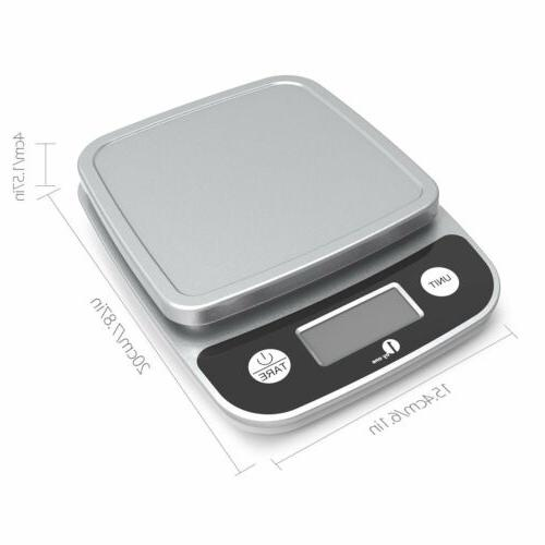 11lb/0.01oz Digital Weight Scale Electronic Diet Food