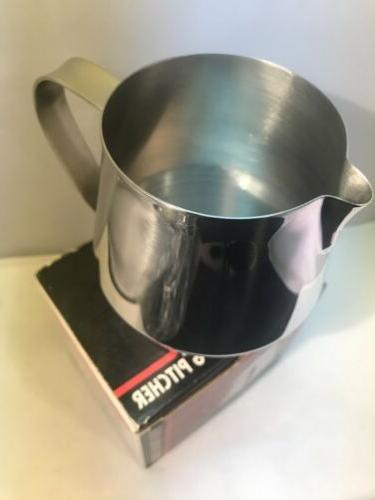 RSVP 18/8 Espresso Steaming Pitcher