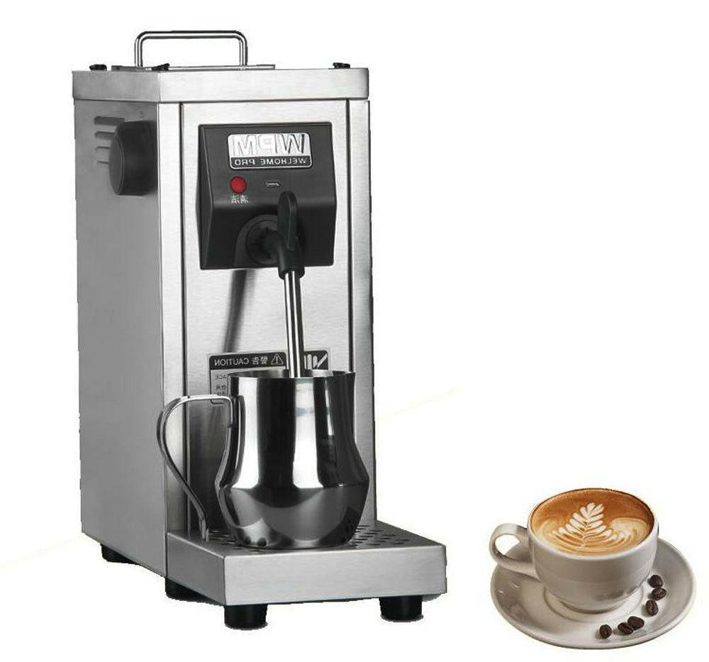 220v commercial auto coffee frother milk steamer