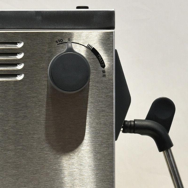 220V Commercial Auto Frother Cappuccino Coffee Maker MS-130D