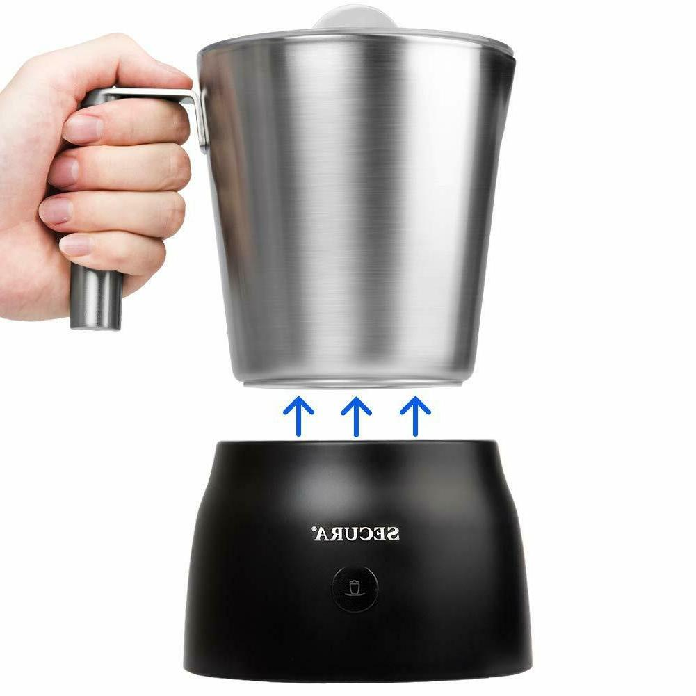 4 in 1 electric automatic milk frother