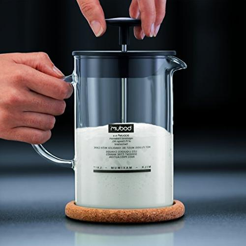 Bodum Latteo Milk Frother and Black