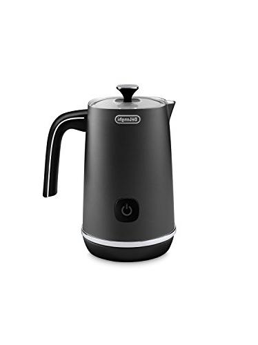 De'Longhi EMF1BK Automatic Metal Milk Frother, Black