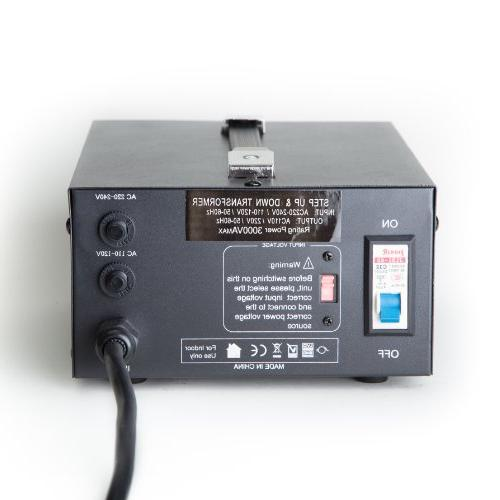 ELC T-3000 3000-Watt Voltage Converter Up/Down - Circuit