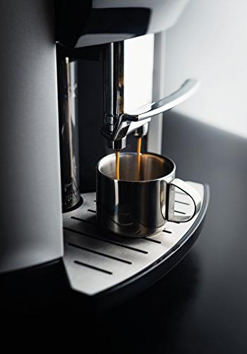 KRUPS Fully Cappuccino Espresso Automatic Rinsing, Two Milk 57 Ounce, Silver