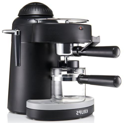 KRUPS Espresso Machine with for Black