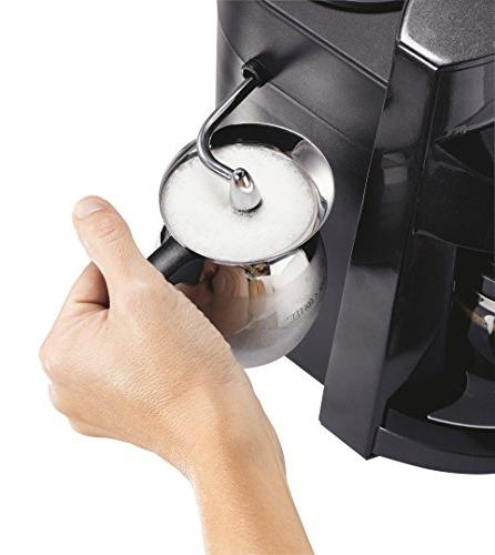 Mr. 4-Cup Espresso with Frother
