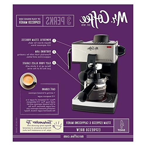 Mr. Coffee 4-Cup Espresso with