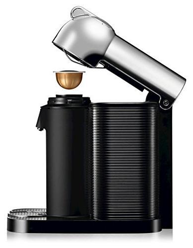 Nespresso A+GCA1-US-CH-NE and Espresso Aeroccino Milk Chrome