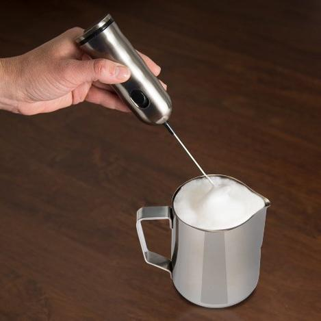 Stainless Steel Milk Pitcher and Bonus Bag - for Espresso Maker, Hot Cappuccino