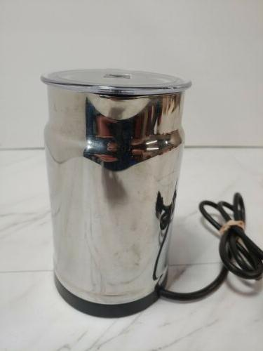 Nespresso Aeroccino Automatic Milk Frother Complete Tested and Working