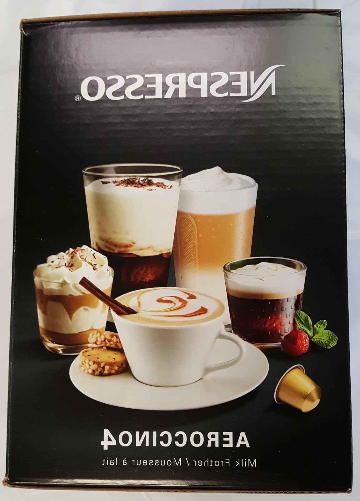 New Nespresso Aeroccino4 Milk Frother 4