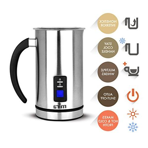 MIRA Electric Frother, Warmer & Heater | Coffee, Cappuccino | Base