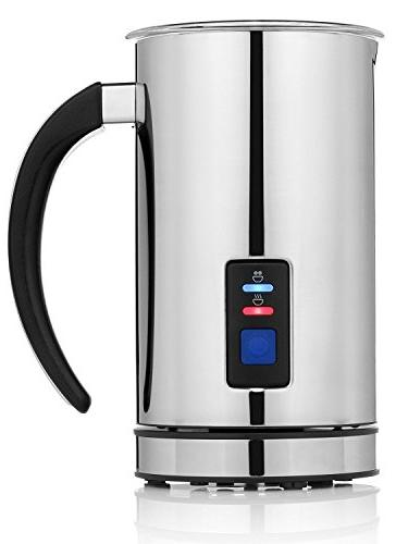 Chef's Star Premium Milk Frother, Cappuccino Density Frothing Frothing Bonus