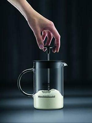Latteo Manual Frother, 8 Black