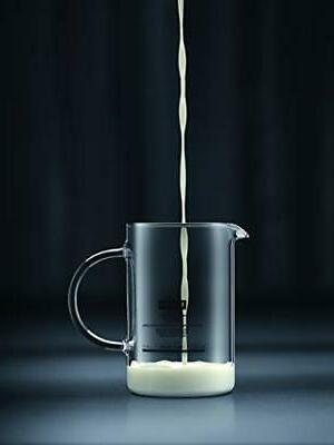 Latteo Manual 8 Ounce, Black
