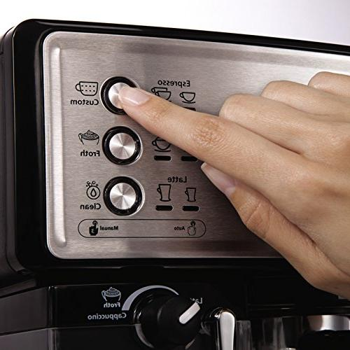 Mr. Coffee Cafe Espresso Maker, BVMC-ECMP1000,