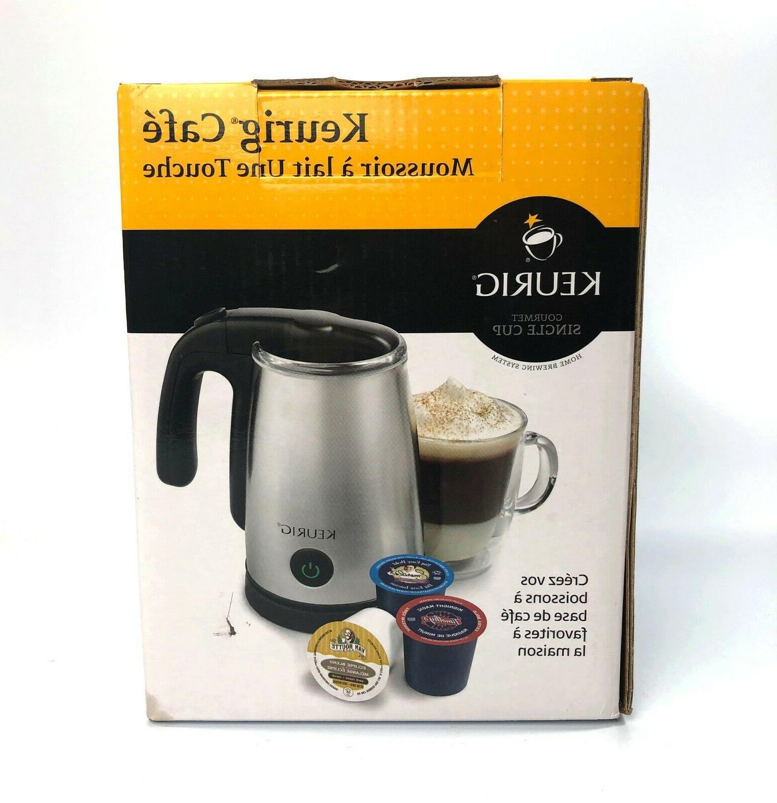Keurig One-Touch Frother Steel