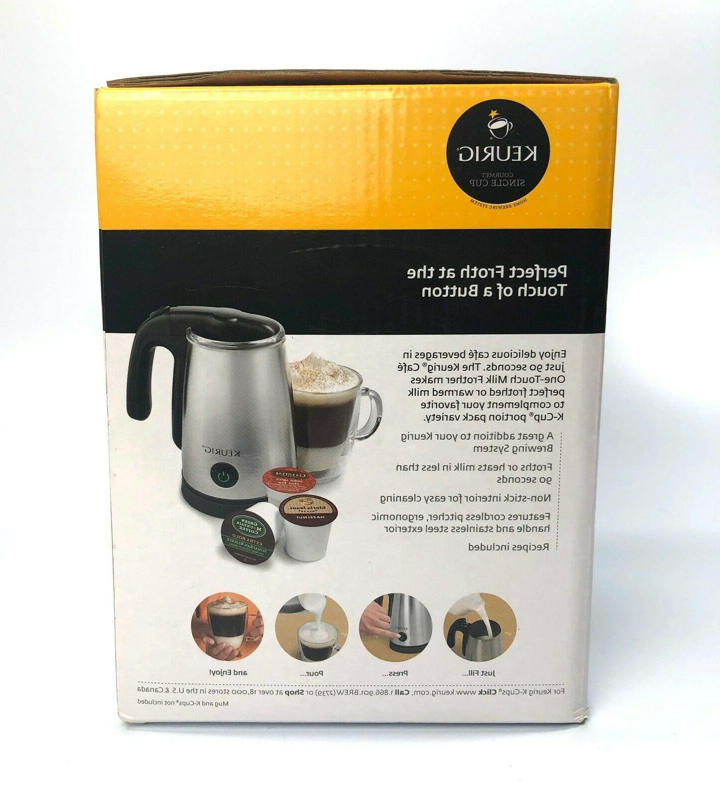 Keurig Café Frother LM-150P Electric Steel