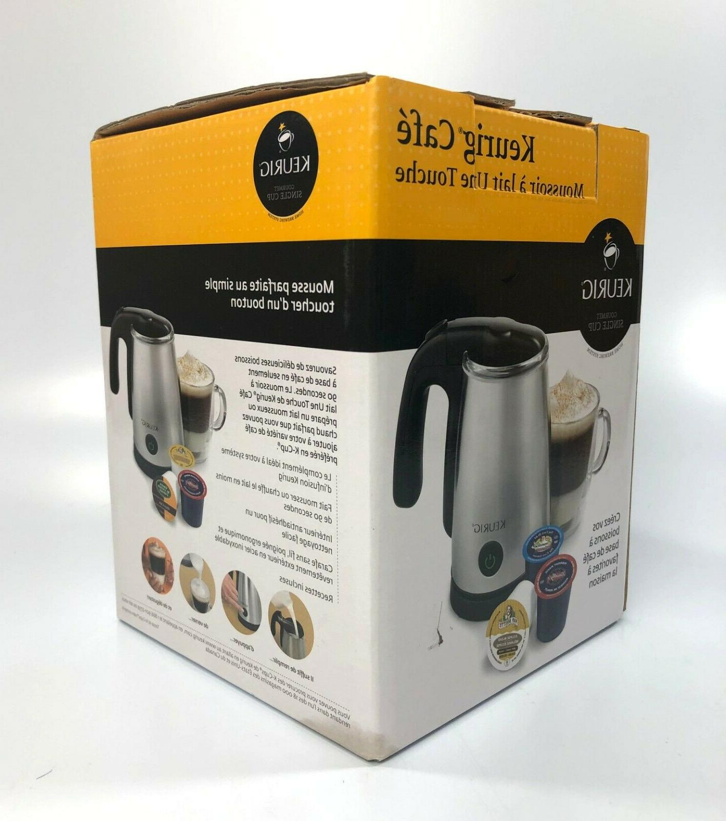 cafe one touch milk frother lm 150p