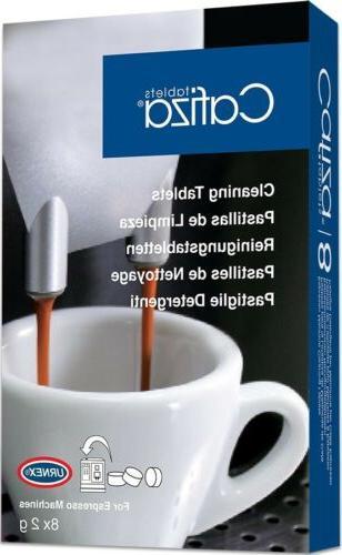 Urnex Cafiza Home Coffee Machine Cleaner 8 Box time.
