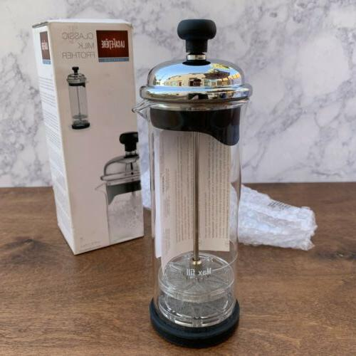 classic milk frother 150mm clear kitchen
