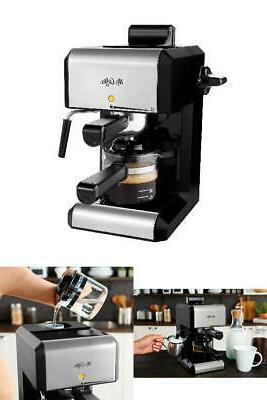 coffee bar espresso machine milk steam frother