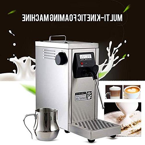 coffee frother milk steamer commercial