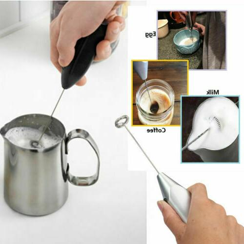 IKEA Coffee Hot Chocolate Milk Frother Frothy Whisker
