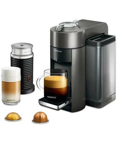 de longhi nespresso vertuo and aeroccino3 coffee