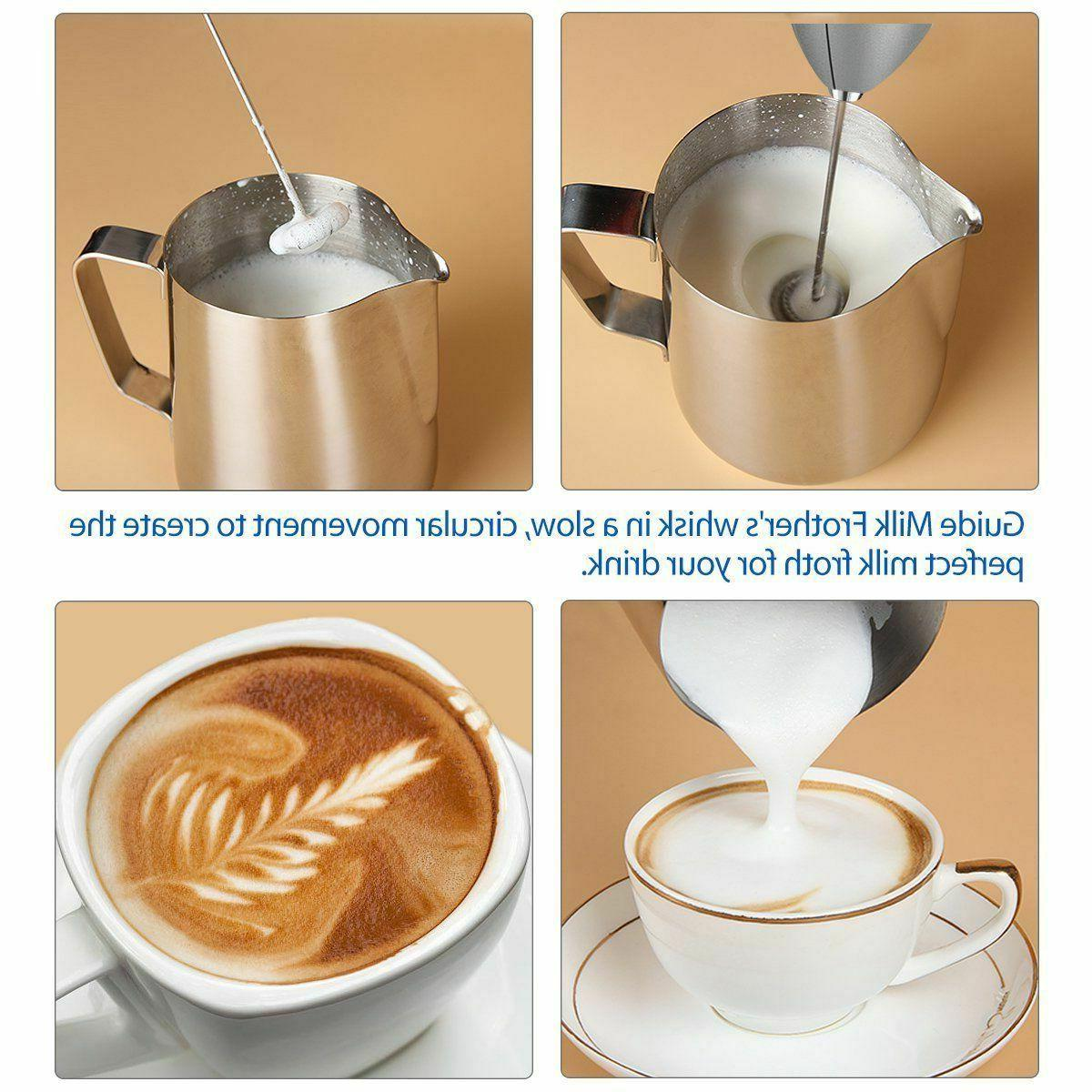 Double-layer Drink Whisk Coffee