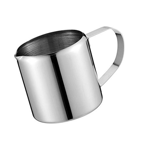 durable stainless steel steaming frothing