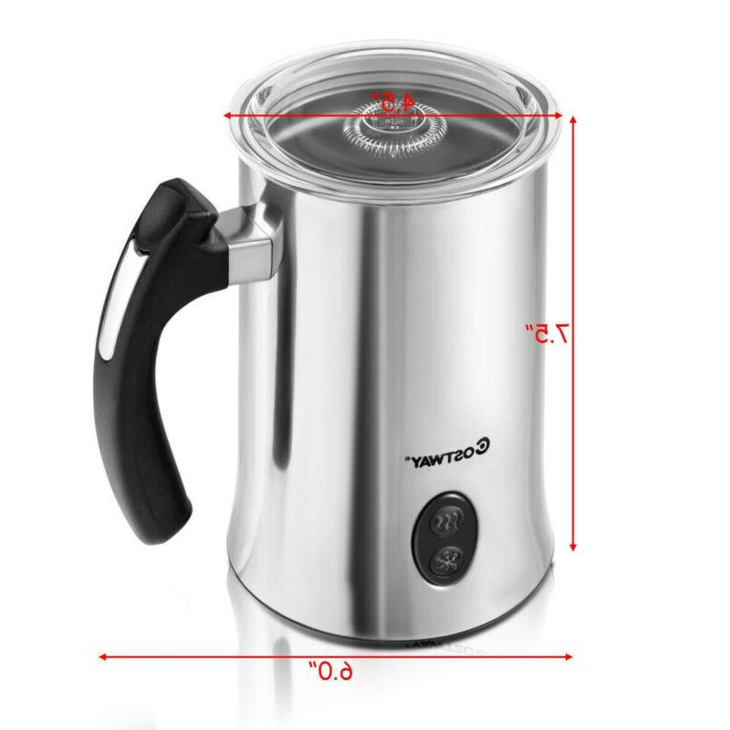 Electric & Heater Hot or Milk Function